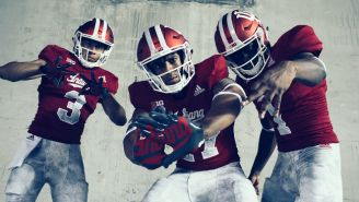 Indiana's Football Team Pays Tribute To A Former Coach With Their Latest Adidas Uniforms