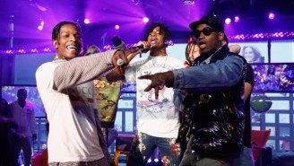 ASAP Mob's 'Feels So Good' Late Night Performance Evokes Grainy, Old Rap Videos On VHS