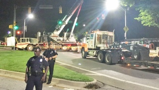 The City Of Baltimore Has Removed Several Confederate Statues During A Massive Overnight Operation
