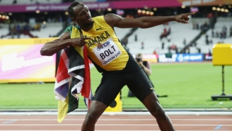 The Internet Said Goodbye To Usain Bolt After A Stunning Loss In His Final 100-Meter Race