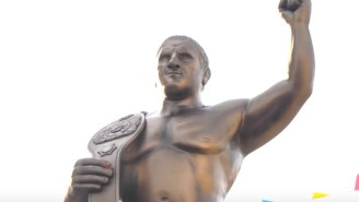 Bruno Sammartino Was Immortalized With A Statue In Italy