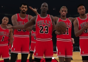 The Chicago Bulls' All-Time 'NBA 2K18' Team Features Jordan, Pippen, Rose And More