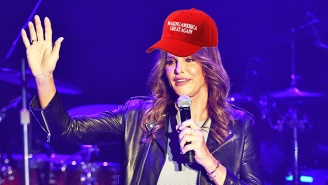 Caitlyn Jenner Supports Trump With A MAGA Hat After Slamming His Proposed Transgender Military Ban