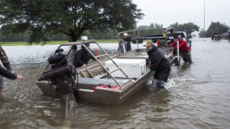 Louisiana's Volunteer 'Cajun Navy' Tells Texans In Need How They Can Request A Rescue By Boat
