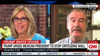 Former Mexican President Vicente Fox Drops Another Savage F-Bomb On Live TV, And People Are Digging It