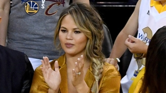 Chrissy Teigen Cracked Jokes Online About Buying The Cleveland Browns