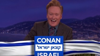 Conan O'Brien Will Enjoy The 'Peace' Of The Middle East When He Takes His Show To Israel In September