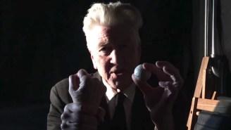 Showtime Finally Released David Lynch's Bizarre 'Twin Peaks' Comic-Con Video