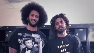 J. Cole Thinks Baltimore Needs To Sign Colin Kaepernick Because Of The City's Recent History