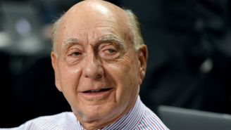 ESPN's Dick Vitale Might Have Been First To Break The Kyrie Irving Trade Being Agreed Upon