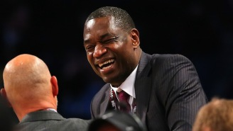 Dikembe Mutombo's 17-Year-Old Adopted Son Is 7'7 And Reminds Him Of Himself