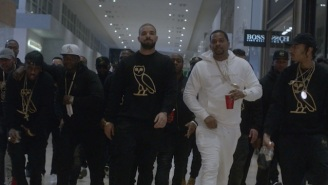Drake Drives A Cadillac Through The Mall In His 'Gyalchester' Video, Which Doubles As An OVO Store Promo