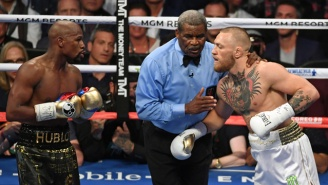 A Daring Fan Snuck His Way Into $25,000 Ringside Seats For The Mayweather Vs. McGregor Fight