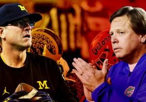 Michigan And Florida's Slugfest Headlines Our Week 1 College Football Picks