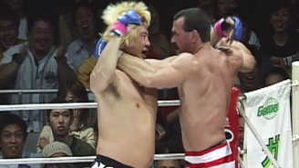 Yoshihiro Takayama, Storied Japanese Wrestler And Part Of The Craziest MMA Fight Ever, Is Paralyzed After A Freak Injury