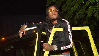 Someone Made A Petition For Quavo To Jump On The American National Anthem