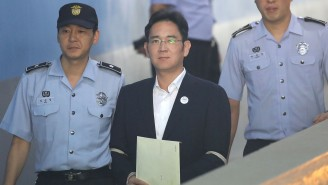 Samsung's Vice Chairman Will Serve Five Years In Prison After His Conviction On Bribery Charges