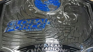 Global Force Wrestling Provided A Look At Their New Championship Belts