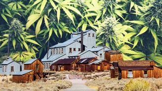 This Ghost Town Is About To Become Westworld For Weed Enthusiasts