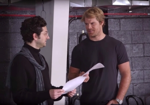 Greg Olsen Wants To Give Acting A Try, And He's Getting Help From Ben Schwartz