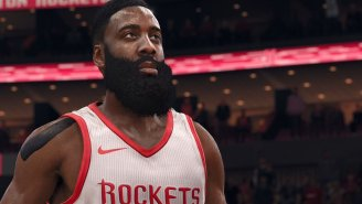 James Harden Has Been Revealed As The Cover Athlete For 'NBA Live 18'