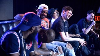 Roc-A-Fella Records Turned Out In Force For ItsTheReal's Live Podcast Recording