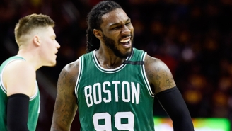 Jae Crowder Was Spotted In Cavs Gear While The Kyrie Irving Trade Remained Stalled