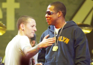 Jay-Z Paid Tribute To Chester Bennington With A Rare Performance Of 'Numb/Encore'