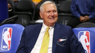 Jerry West Says Everyone Is 'Playing For Second Place' Against The Warriors
