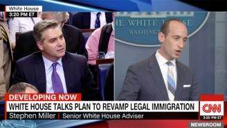 CNN's Jim Acosta Was Aghast That Stephen Miller — A Duke Grad From Santa Monica — Accused Him Of 'Cosmopolitan Bias'
