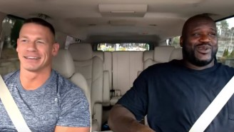 WWE Star John Cena And Shaquille O'Neal Are Teaming Up For 'Carpool Karaoke'