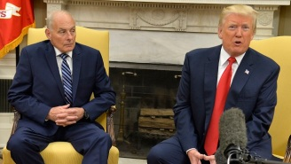 Report: John Kelly And The Defense Secretary Agreed To Make Sure One Of Them Remained In The U.S. To Keep Tabs On Trump