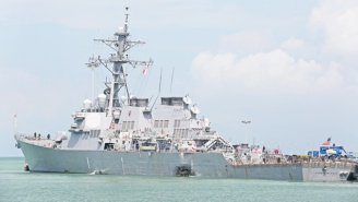 The U.S. Navy Halts The Sea Search For Missing USS John McCain Sailors And Confirms One Death