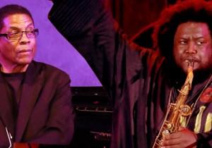 Towering Jazz Giants Kamasi Washington And Herbie Hancock Lit Up The Hollywood Bowl