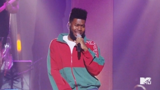 Khalid's VMAs Pre-Show Medley Of 'Location' And 'Young, Dumb, And Broke' Was Exuberant