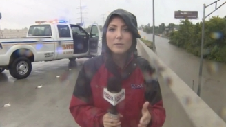 A Houston Reporter Came To The Rescue Of A Truck Driver During A Live Broadcast