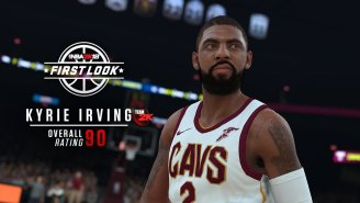 'NBA 2K' Had To Tell Kyrie And Paul George They Don't Get Ratings Bumps For Being On The Cover