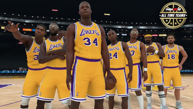 All 30 'NBA 2K18' All-Time Teams, Ranked