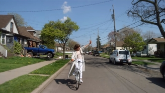 Jessy Lanza Bikes Through Her Hometown In The Dreamy 'I Talk BB' Video