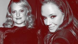 It's Going To Get Really Awkward If Leah Remini Bumps Into Elisabeth Moss At The Emmys