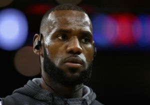 LeBron Posted Workout Videos With Kevin Love While Kyrie Irving Was On 'First Take'