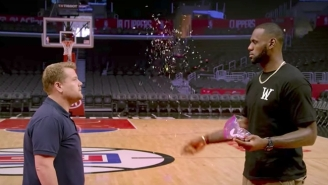 Carpool Karaoke Is Back And LeBron James Is Showering James Corden With Confetti
