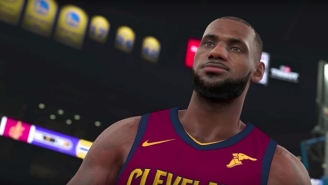 The Cavs And Warriors Were Among Teams That Got Their Alternate Jerseys Leaked In 'NBA 2K18'
