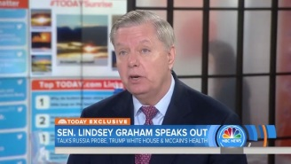 Lindsey Graham: President Trump Believes Military Action Against North Korea Is 'Inevitable'