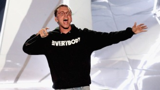 Logic's Fierce VMA Performance Of '1-800-273-8255' Was A Powerful Suicide Prevention Message
