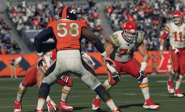 Madden 95 Player Ratings