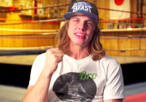 Matt Riddle Vs. Stephan Bonnar Is Officially The Most Unexpected Pro Wrestling Match Of The Year