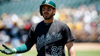 Oakland Athletics Outfielder Matt Joyce Got Suspended For Using A Gay Slur In An Argument With A Fan