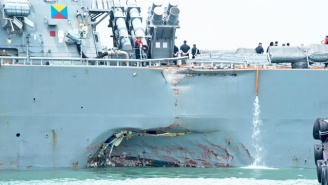 The U.S. Navy Orders An Investigation Into Its Pacific Fleet Following Two Recent Warship Collisions
