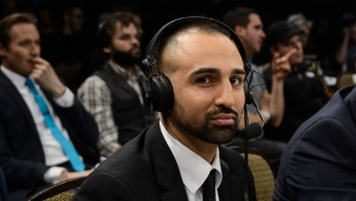 Watch Conor McGregor Fans Get A Rise Out Of Paulie Malignaggi At Last Night's Weigh Ins